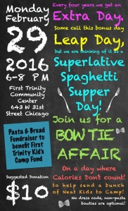 Bow Tie fundraising event